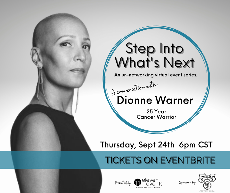 Step Into What's Next Dionne Warner